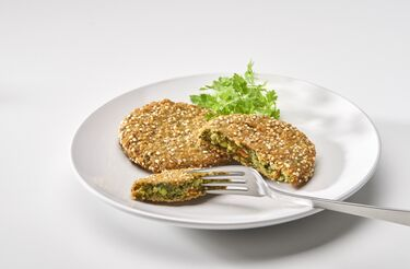 Uqb Quinoa Kale Burger 2