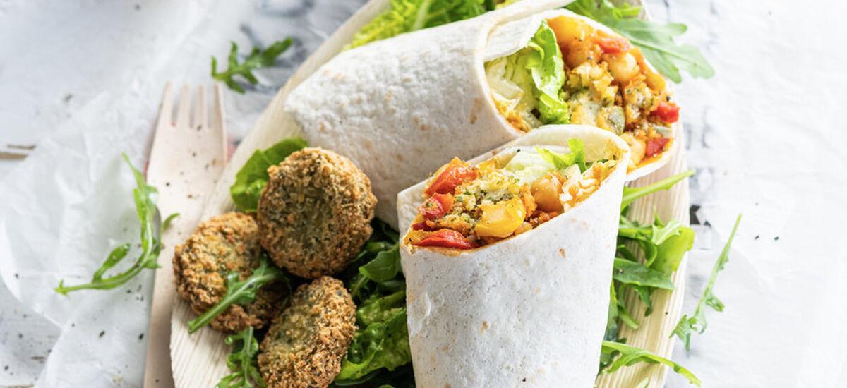 Ardo Vegan Falafel Wrap