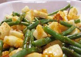 Groene Bonen Salade Met Harissa