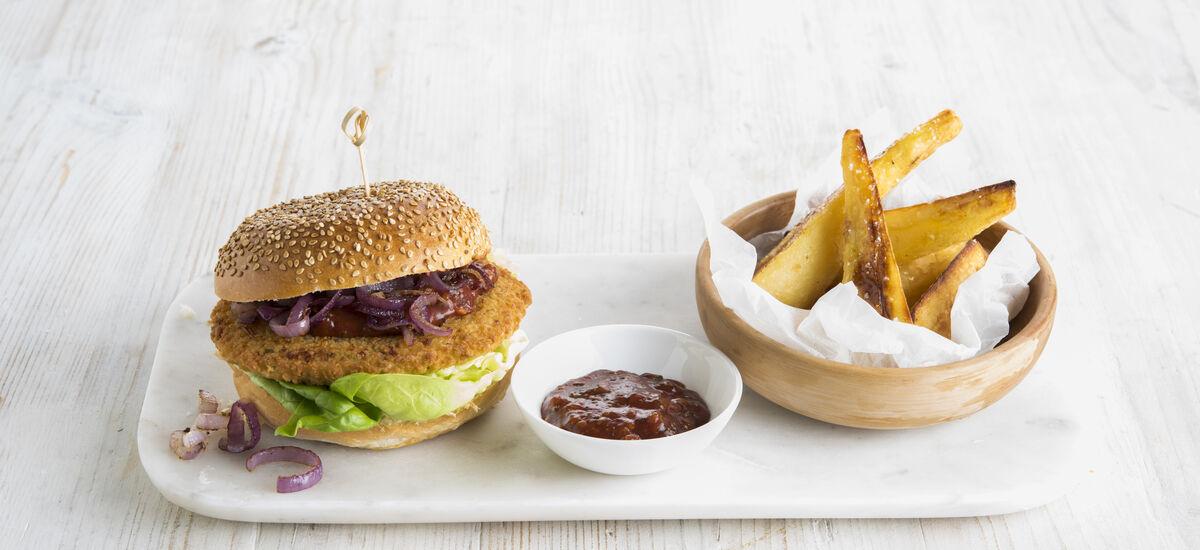 Bloemkoolburger 2