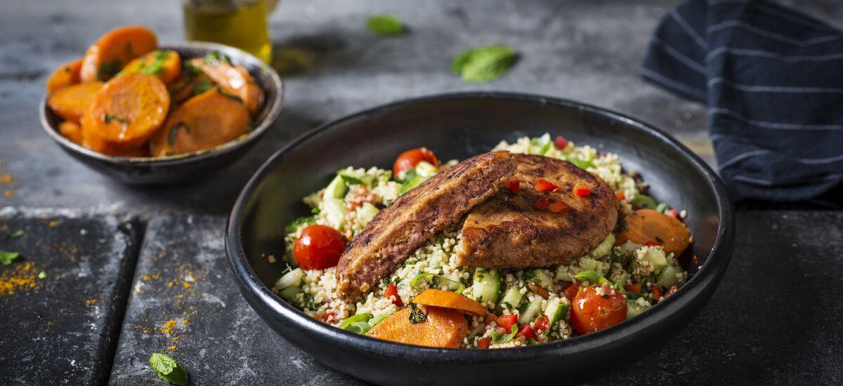 Burger Marrokaanse Tabouleh 073